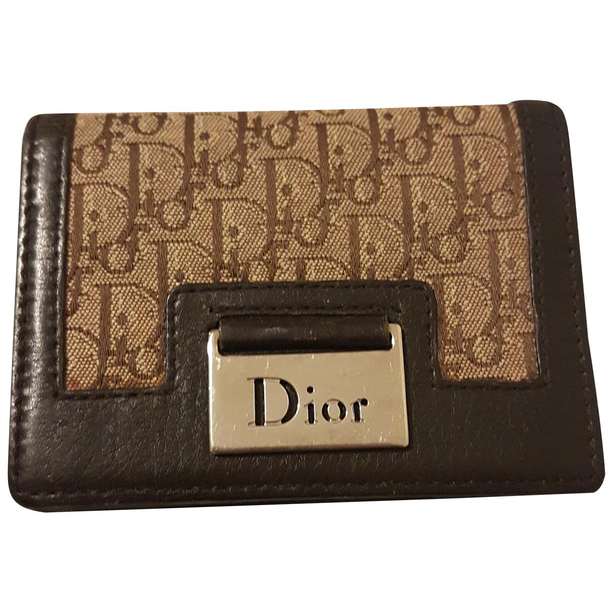 Dior - Petite maroquinerie   pour femme en autre - marron