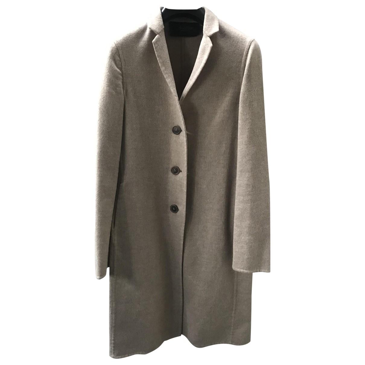 Calvin Klein Collection \N Maentel in  Beige Wolle