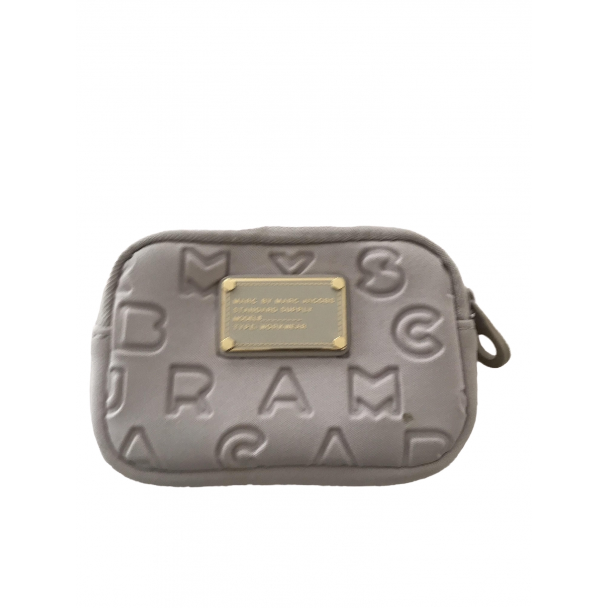 Marc By Marc Jacobs \N Grey Cotton Purses, wallet & cases for Women \N