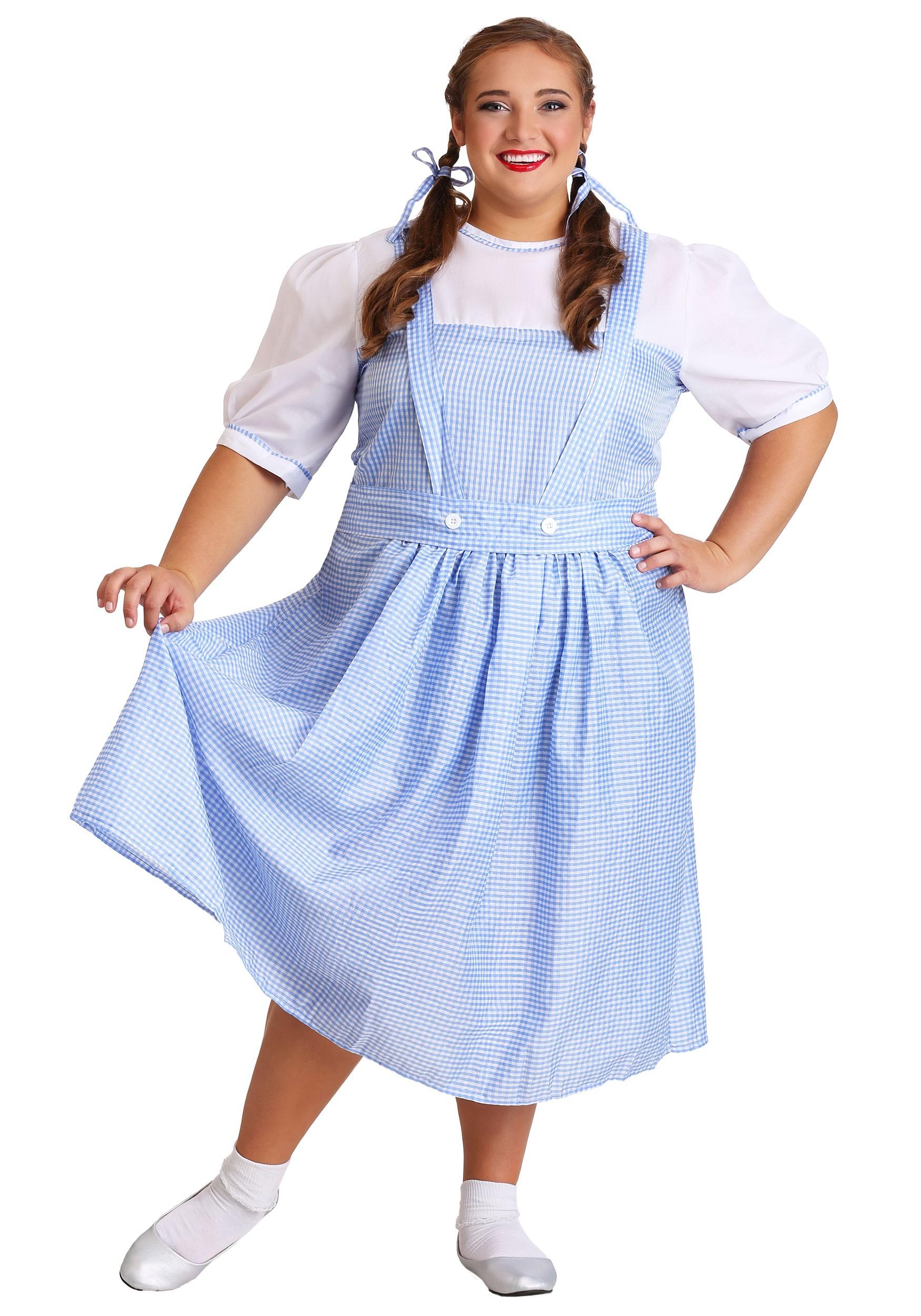 Plus Size Kansas Girl Costume