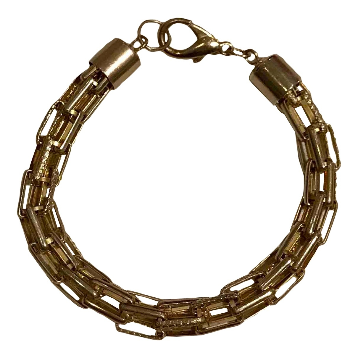 Non Signe / Unsigned \N Armband in  Gold Metall