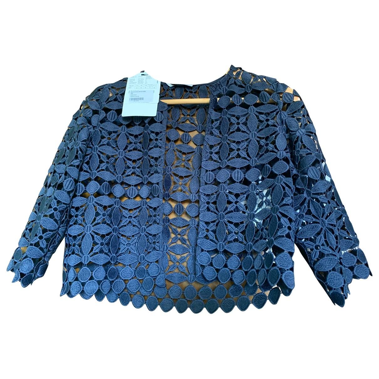 Max & Co \N Jacke in  Blau Polyester