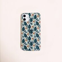 Avocado Pattern iPhone Case