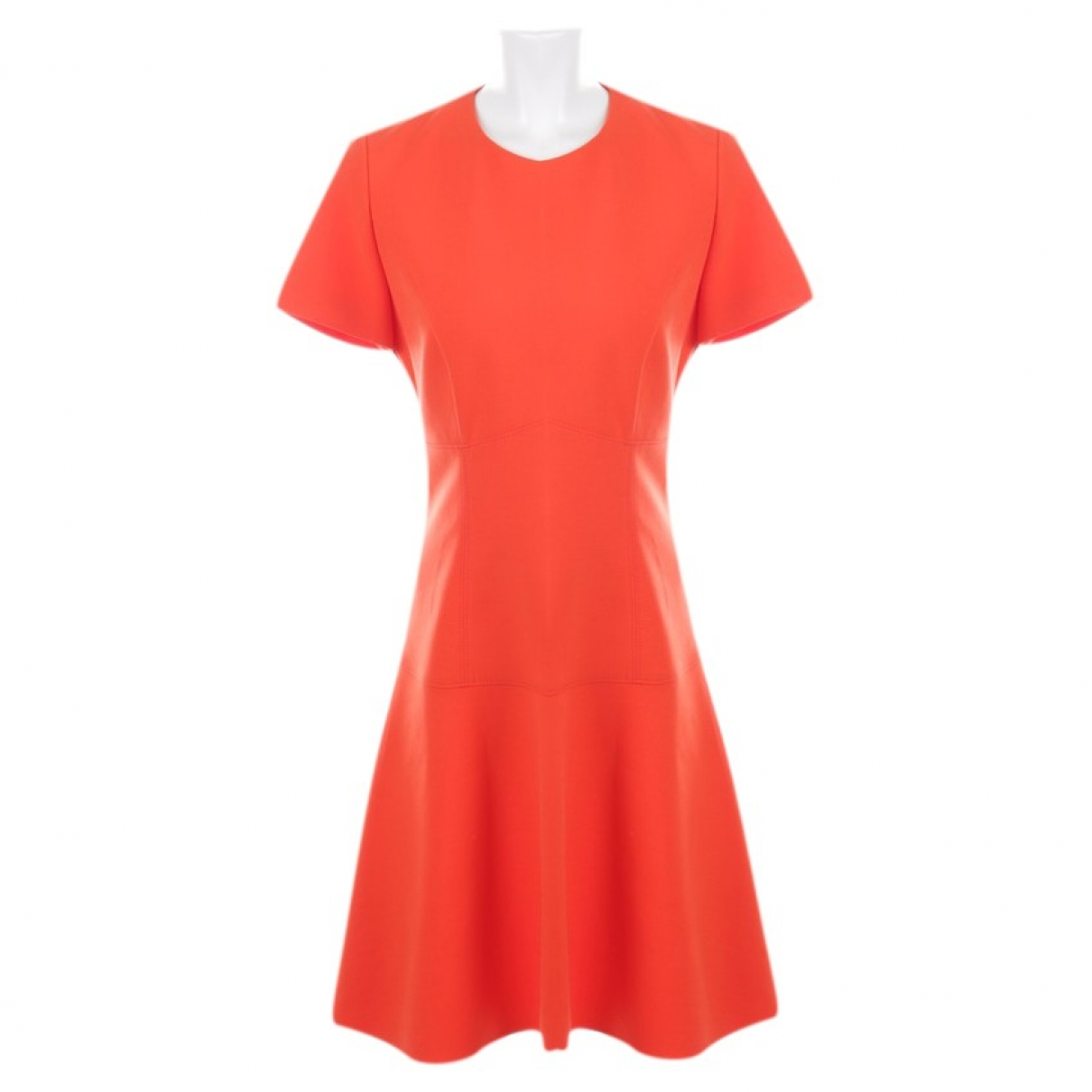Hugo Boss \N Kleid in  Rot Polyester