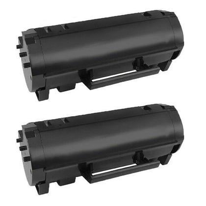 Compatible Lexmark 601H 60F1H00 Black Toner Cartridge - Economical Box - 2/Pack