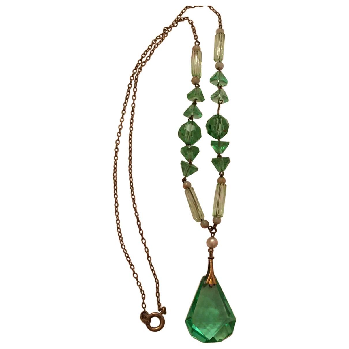 Collar Art Deco de Cristal Non Signe / Unsigned
