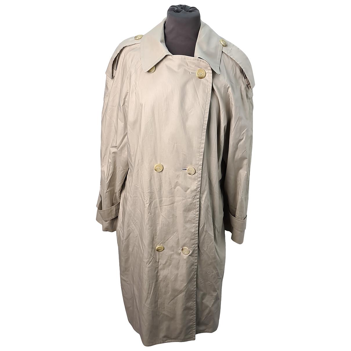 Burberry N Beige Cotton coat for Women 10 UK