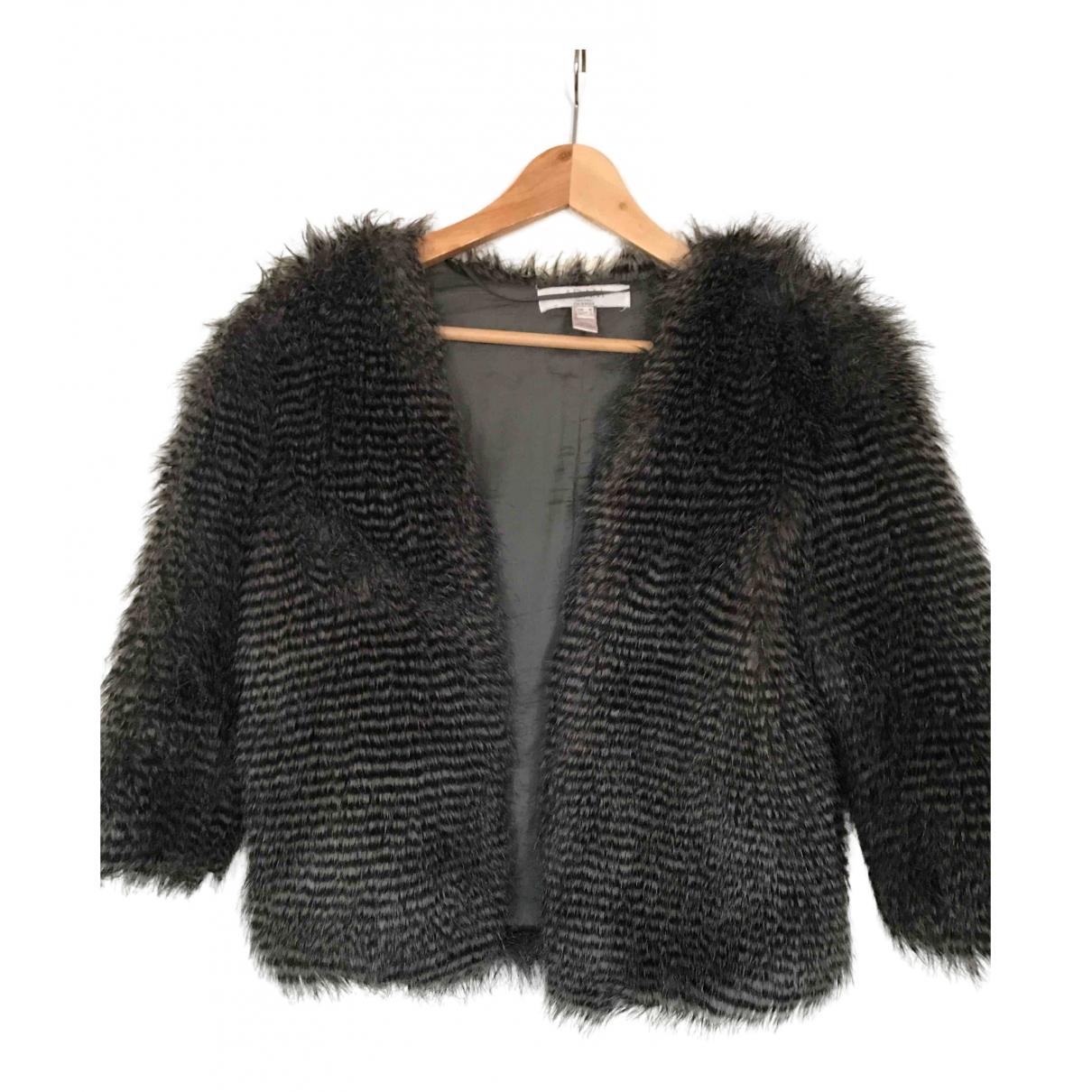 Adam Lippes - Manteau   pour femme en fourrure synthetique - gris