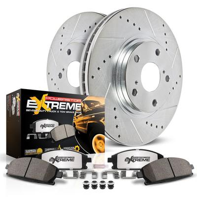 Power Stop Z36 Severe-Duty Truck & Tow 1-Click Front and Rear Brake Kit - K2148-36