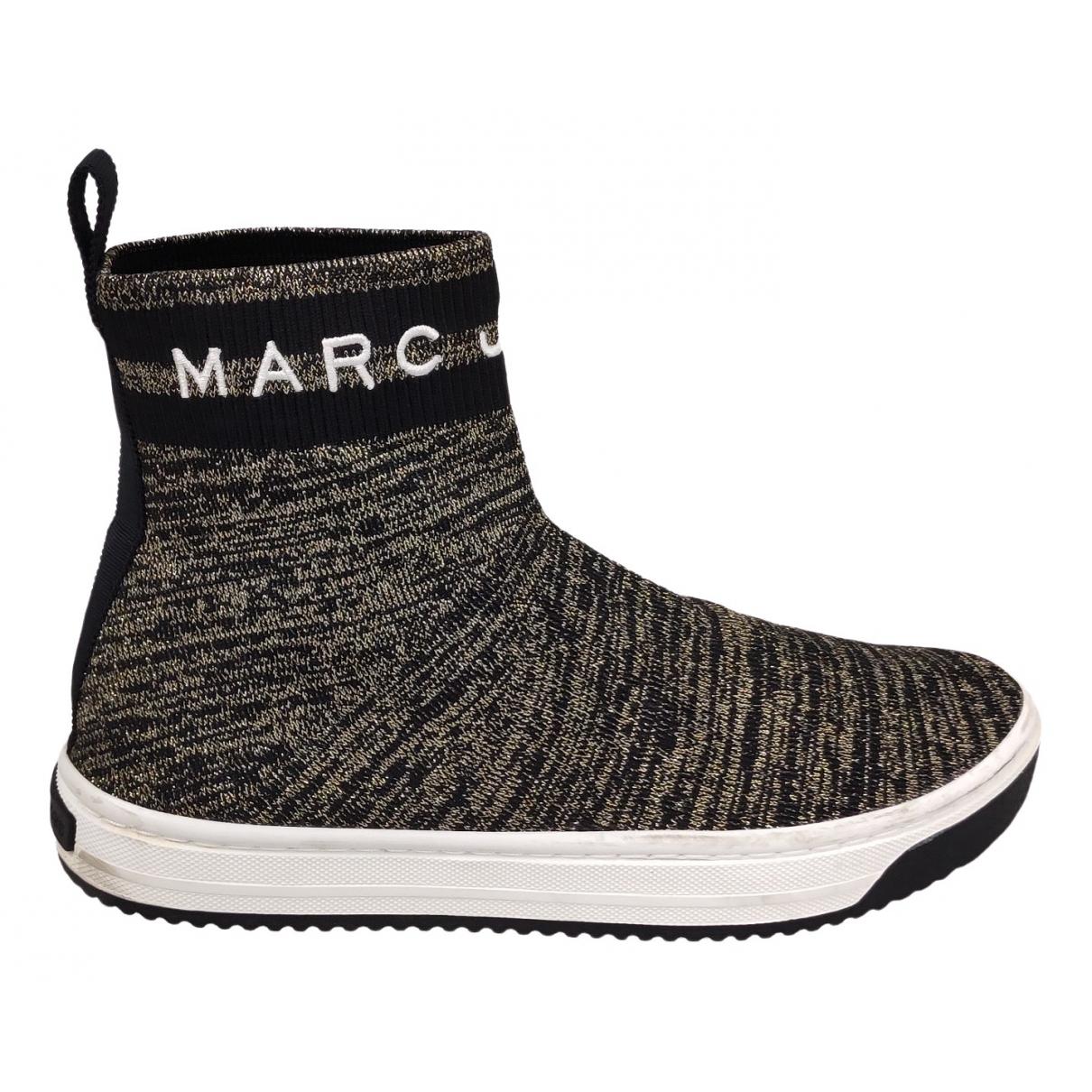 Marc Jacobs \N Sneakers in  Schwarz Leinen