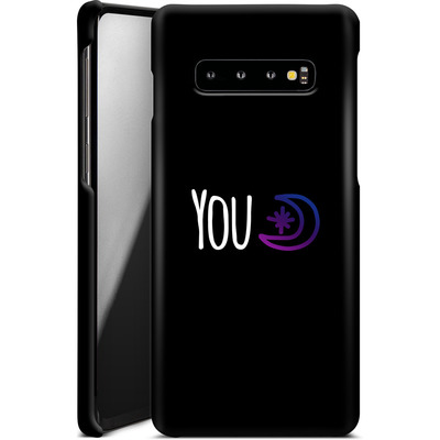 Samsung Galaxy S10 Plus Smartphone Huelle - You Moon von caseable Designs