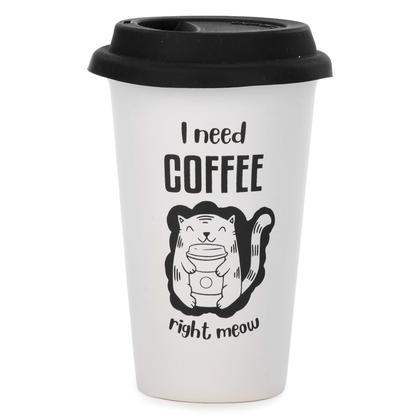 Travel Mug - I Need Coffee 4X6