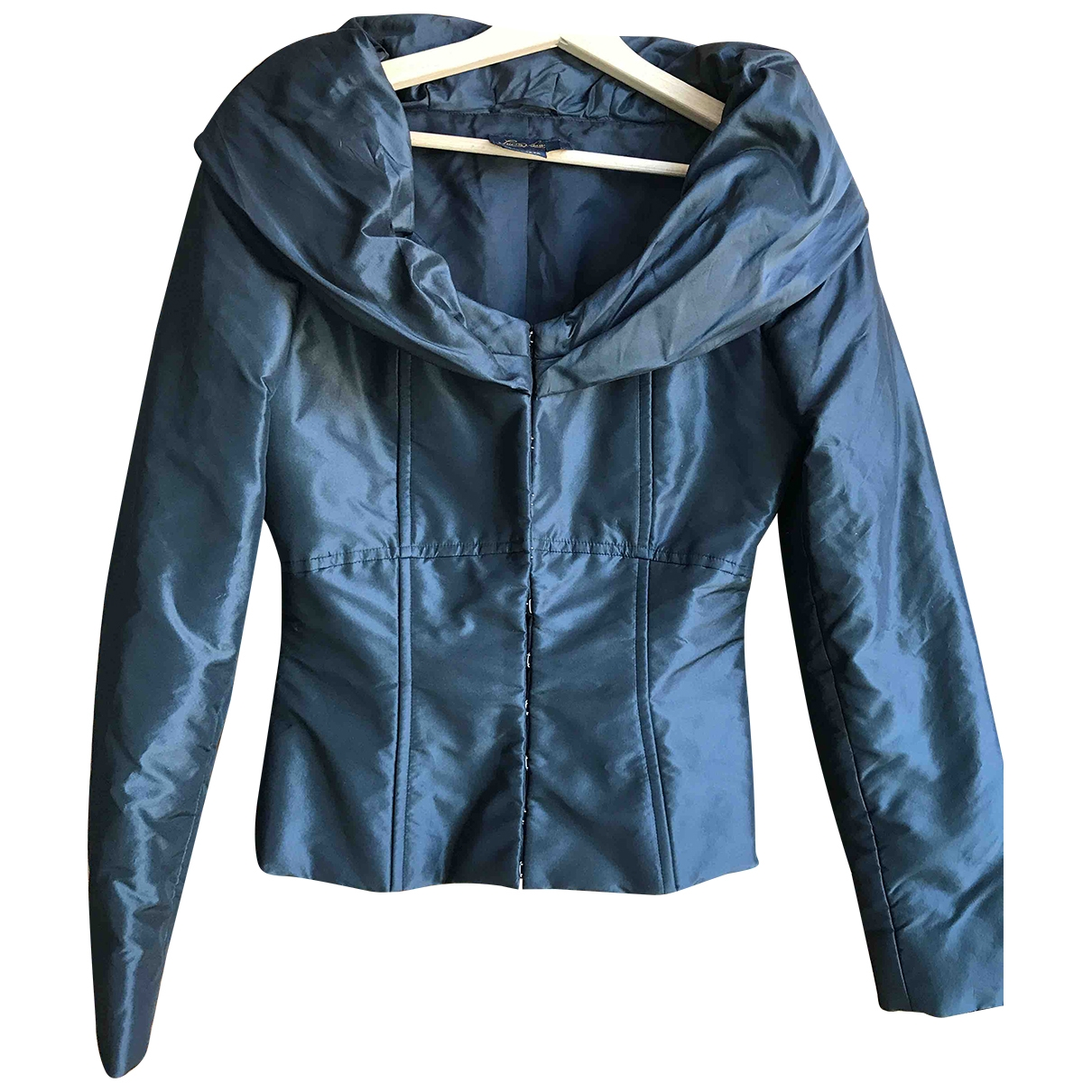 Non Signé / Unsigned \N Black Silk jacket for Women 40 IT
