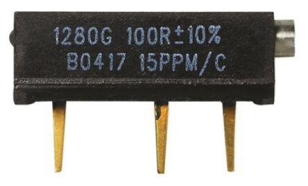 Vishay Foil Resistors 500Ω, Through Hole Trimmer Potentiometer 0.75W Side Adjust , 1280G