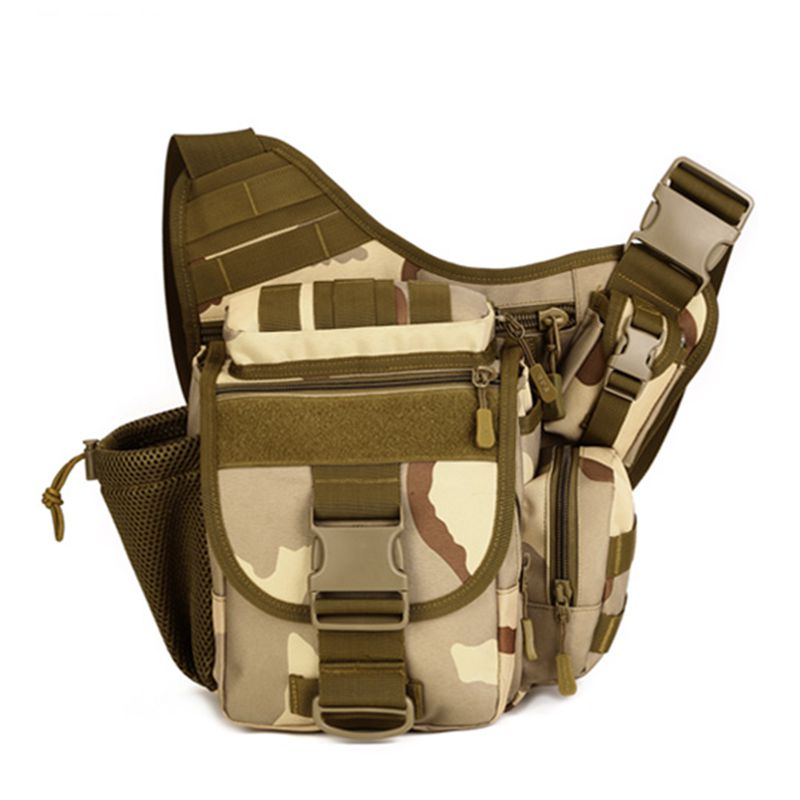 Military Nylon SLR Camera Outdoor for Men Photography Bag