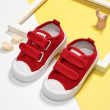 Toddler Boys Velcro Strap Canvas Shoes