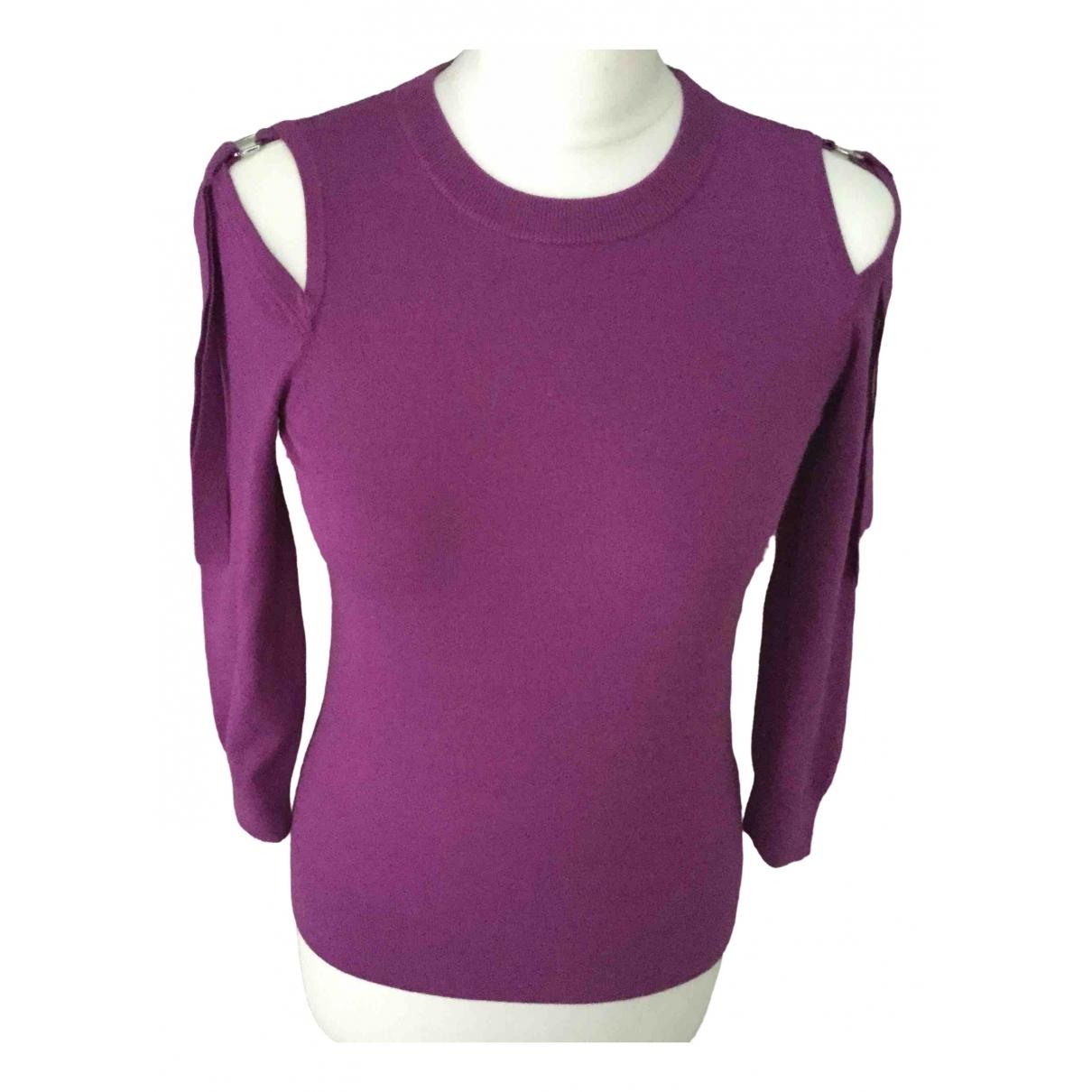 Karen Millen - Top   pour femme - violet