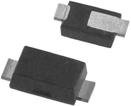 DiodesZetex Diodes Inc 1000V 1A, Diode, 2-Pin PowerDI 123 S1MSP1-7 (100)