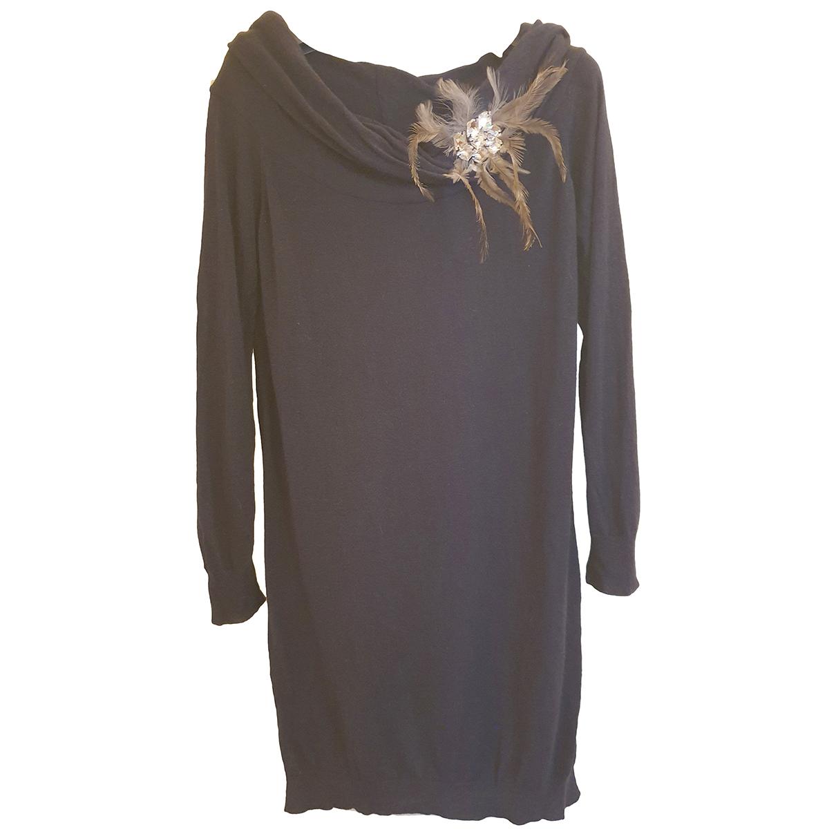 Blumarine \N Kleid in  Blau Polyester
