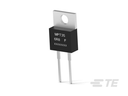 TE Connectivity Power Film Through Hole Fixed Resistor 35W 1% MPT35C180RF (50)