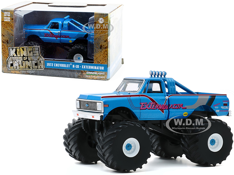 1972 Chevrolet K-10 Monster Truck with 66-Inch Tires