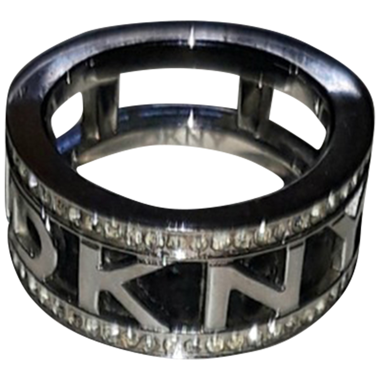 Dkny - Bague   pour femme en acier - argente