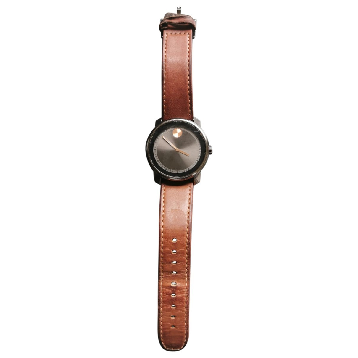 Movado - Montre   pour homme en acier - marron