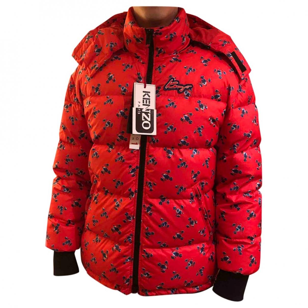 Kenzo - Manteau   pour homme - rouge