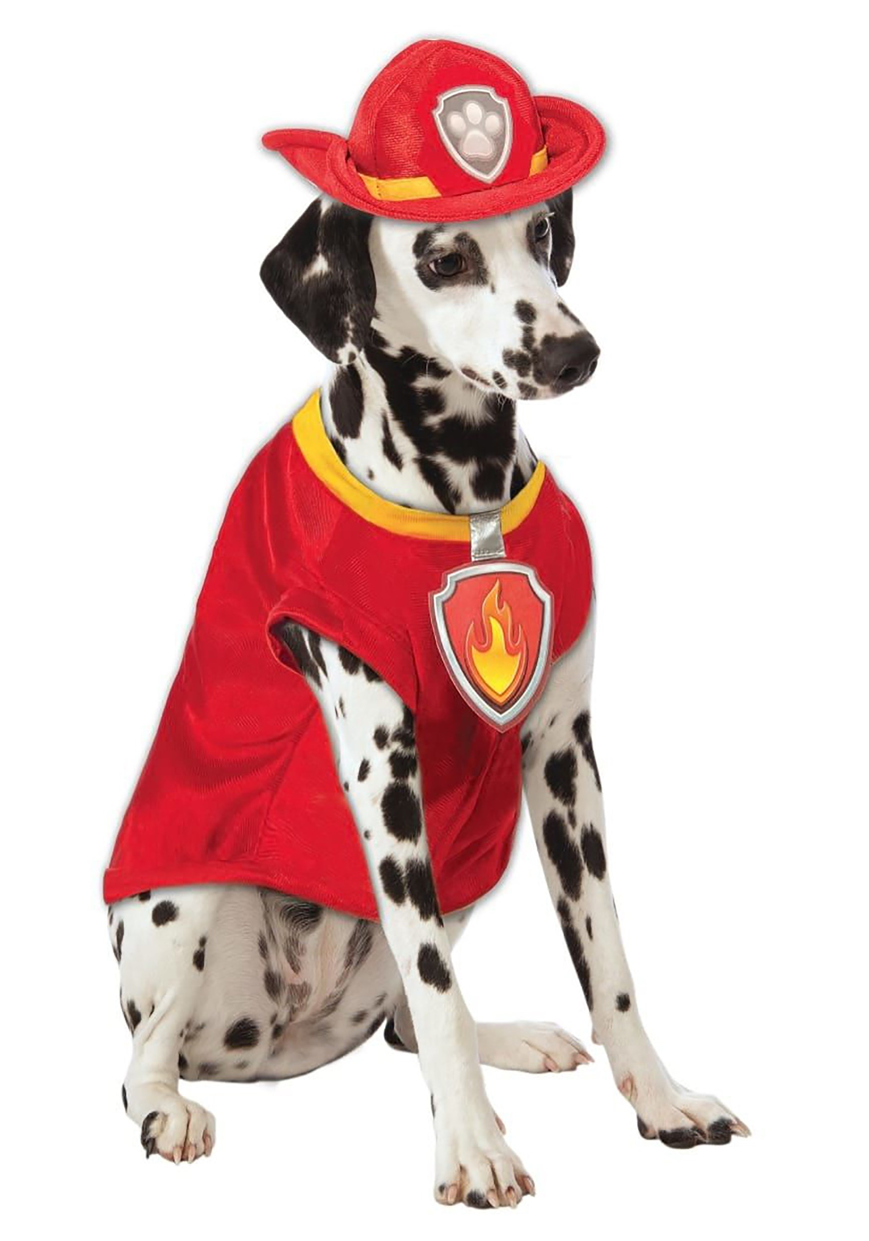 Paw Patrol Marshall The Fire Dog Pet Outfit