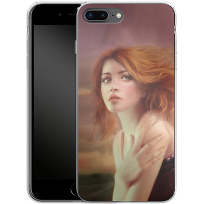 Apple iPhone 8 Plus Silikon Handyhuelle - Melanie Delon - Hope von TATE and CO