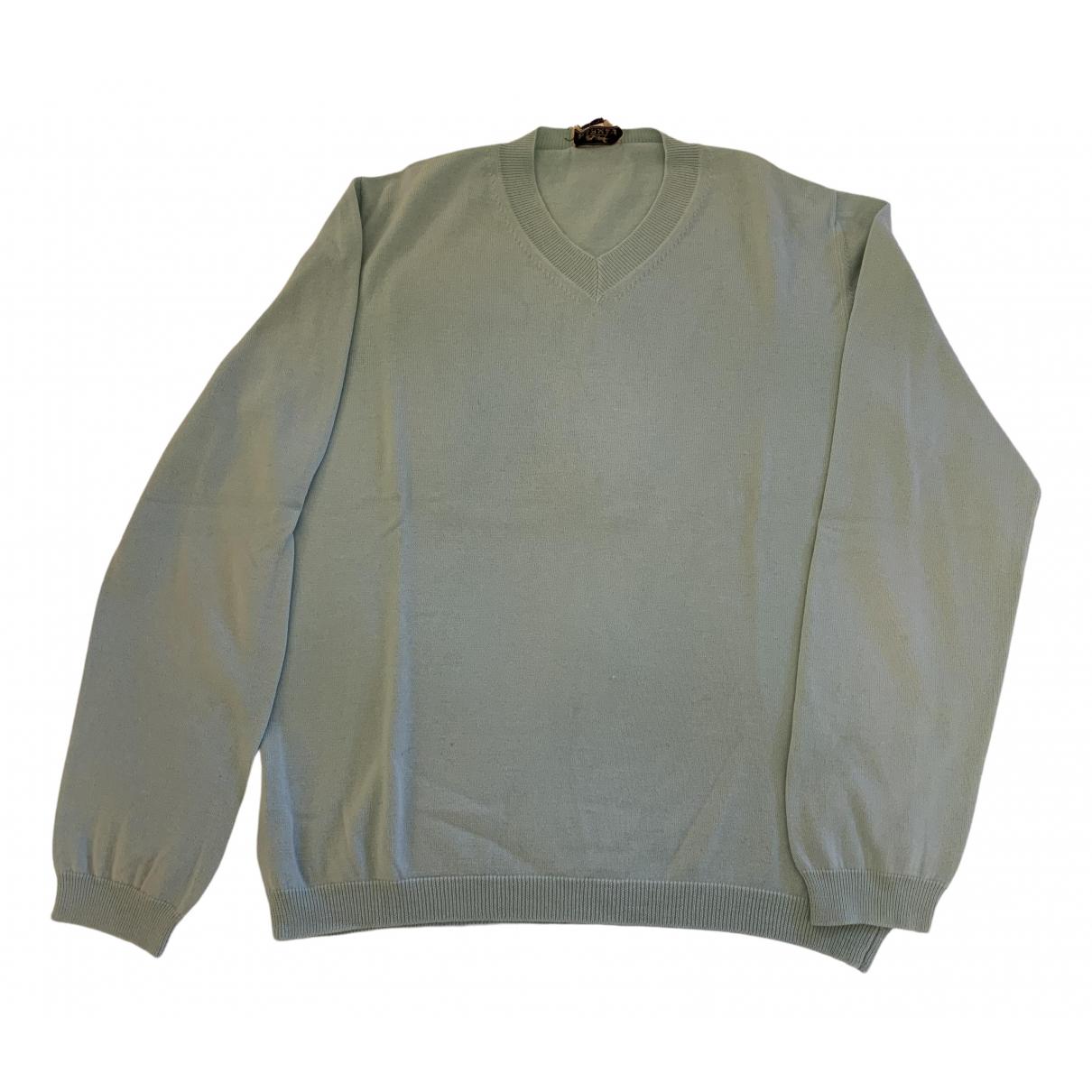 Hermes - Pulls.Gilets.Sweats   pour homme en cachemire - turquoise