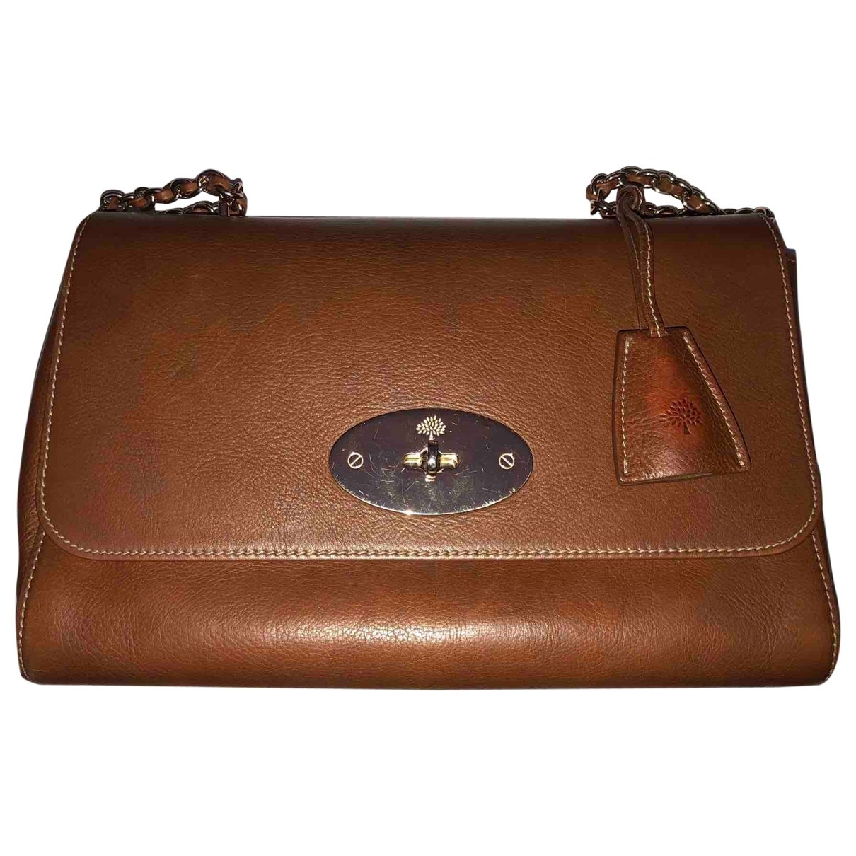 Mulberry Lily Medium Brown Leather handbag for Women \N
