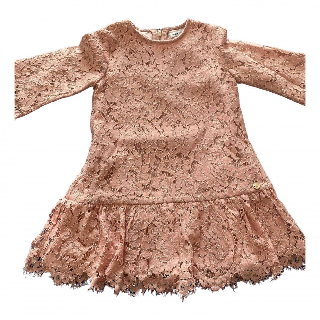 Byblos \N Kleid in  Rosa Baumwolle