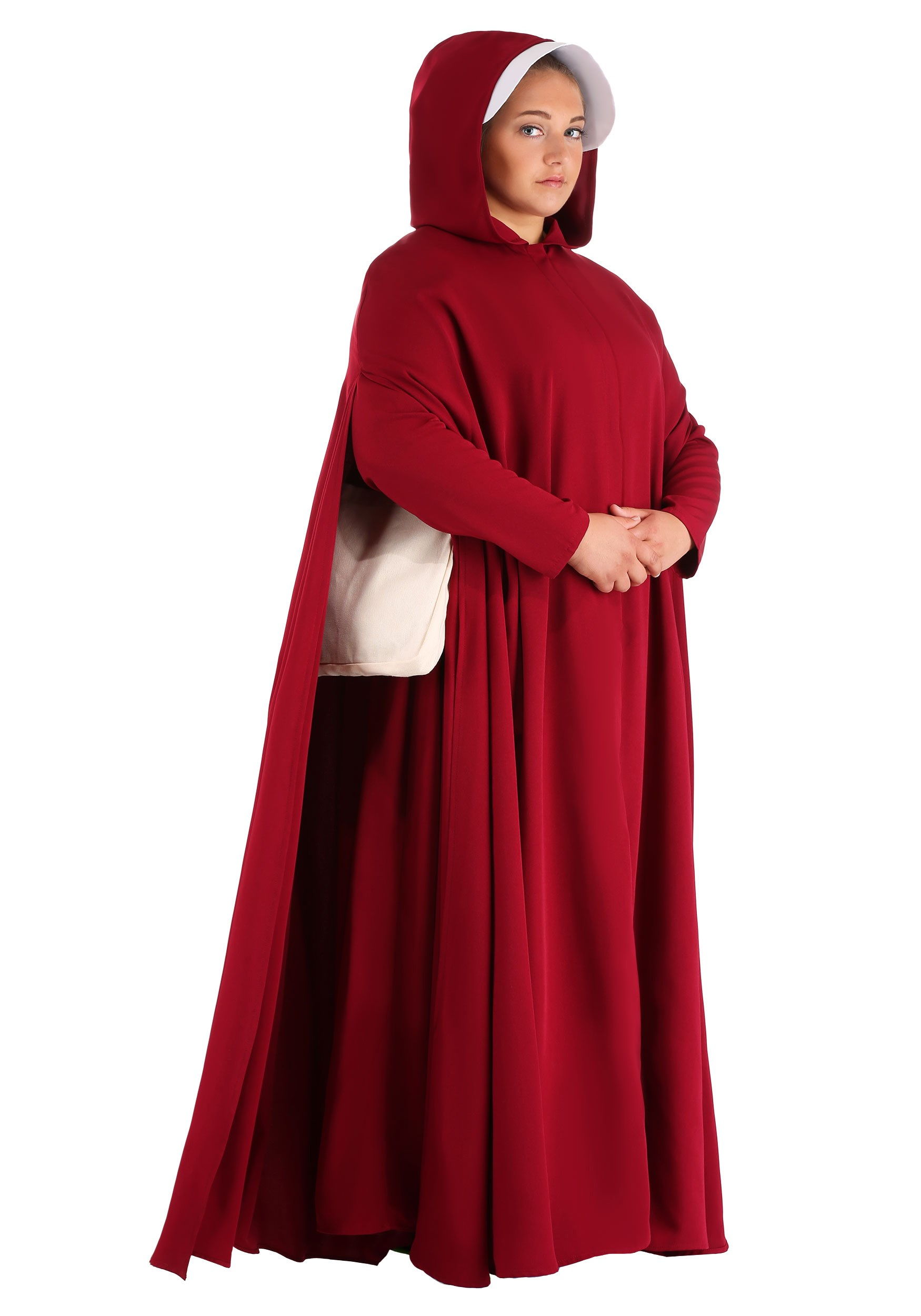 Handmaids Tale Deluxe Plus Size Costume For Women