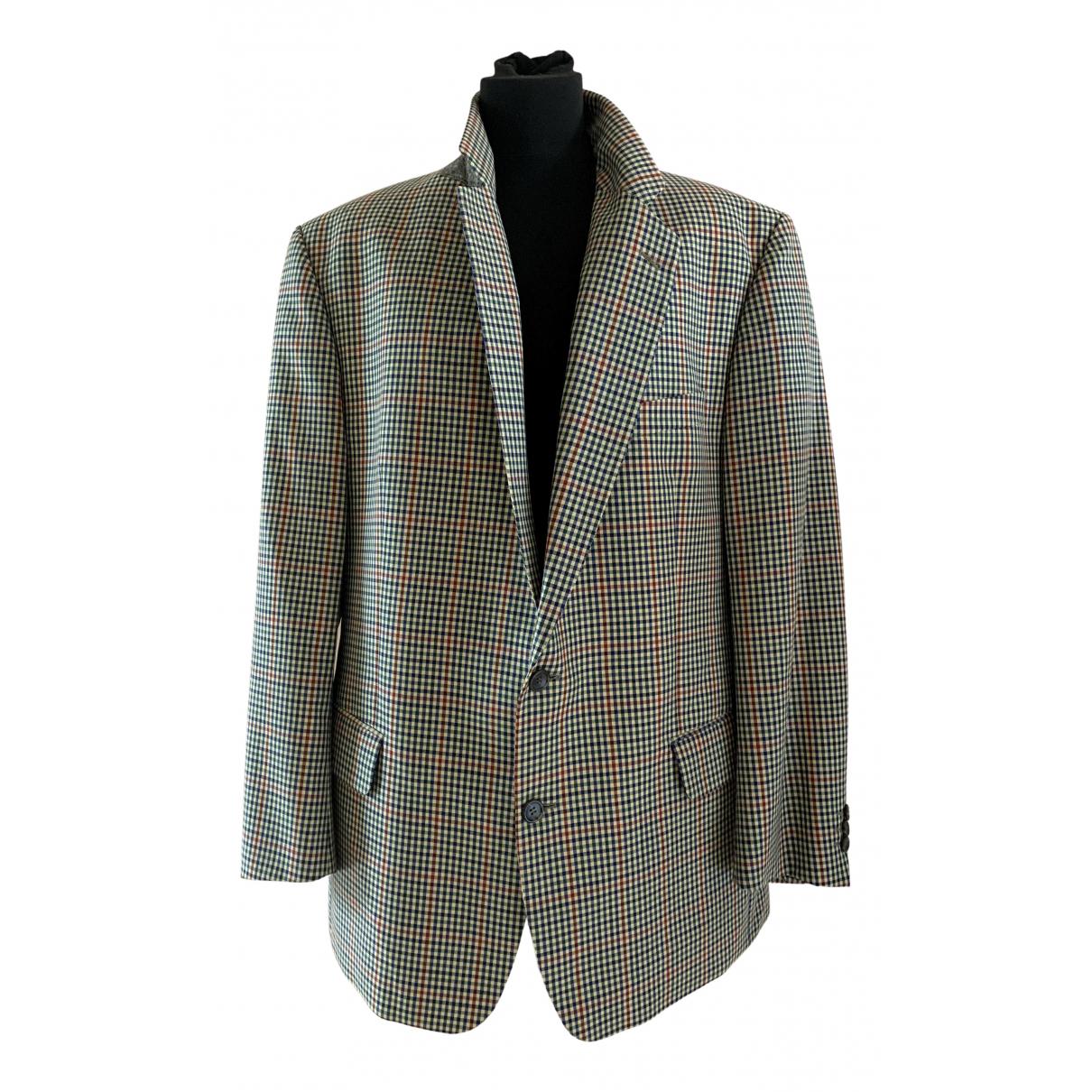 Burberry - Vestes.Blousons   pour homme en laine - gris