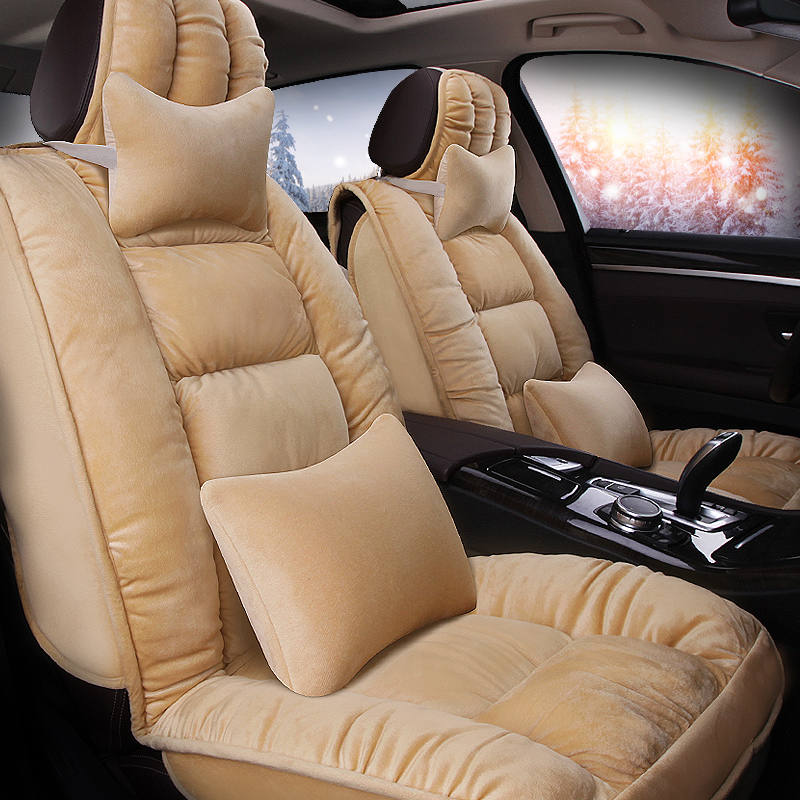 Warm Comfortable Substantial For Pruis Camry Civic Etc Universal Car Seat Cover