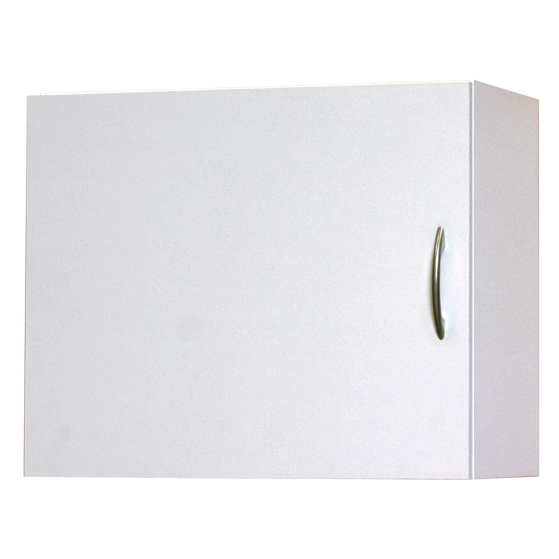 Flat Panel Wall Cabinet, White