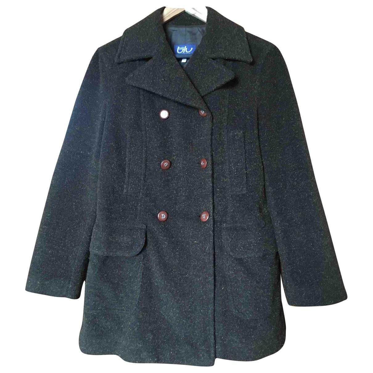Byblos - Manteau   pour femme en laine - marron