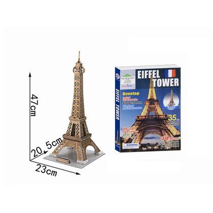 Puzzle 3D de la Tour Eiffel, 35 pièces