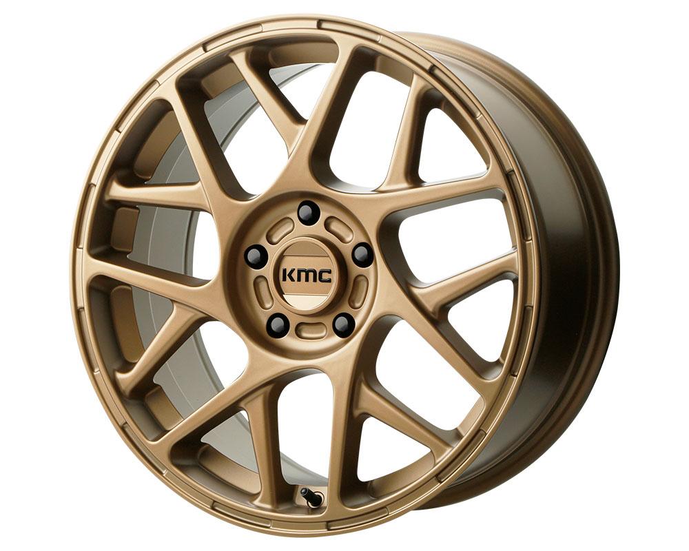 KMC KM708 Bully Wheel 17x8 5x5x112 +38mm Matte Bronze
