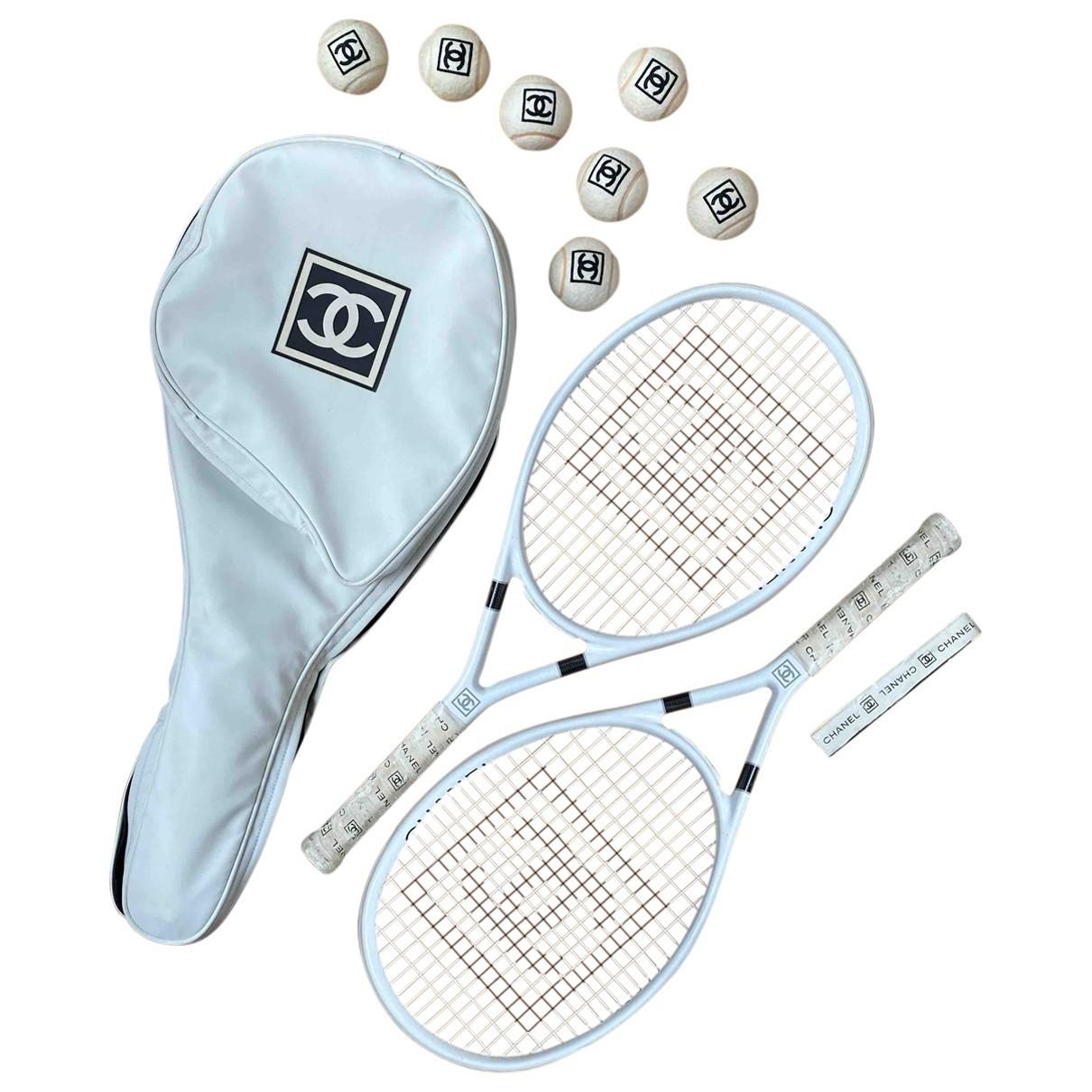 Chanel - Tennis   pour lifestyle en coton - blanc