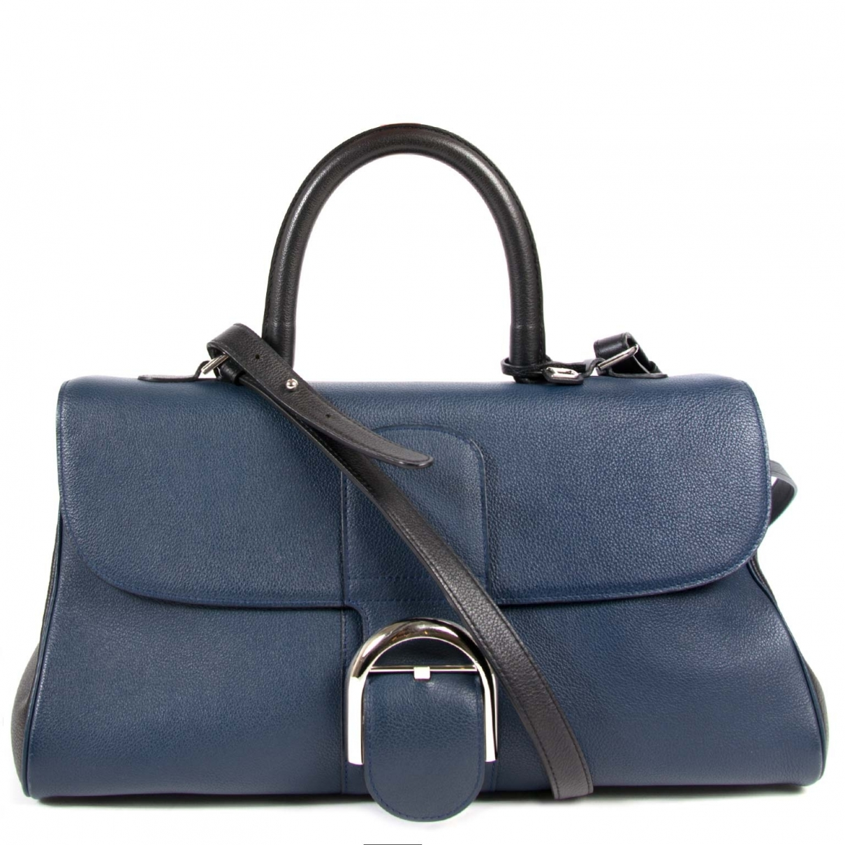 Delvaux Le Brillant Blue Leather handbag for Women \N