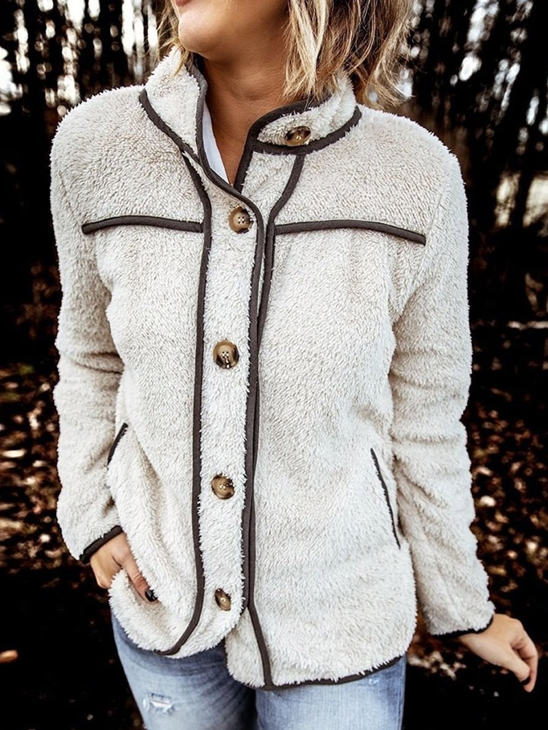 Ericdress Single-Breasted Thin Long Sleeve Standard Fall Jacket