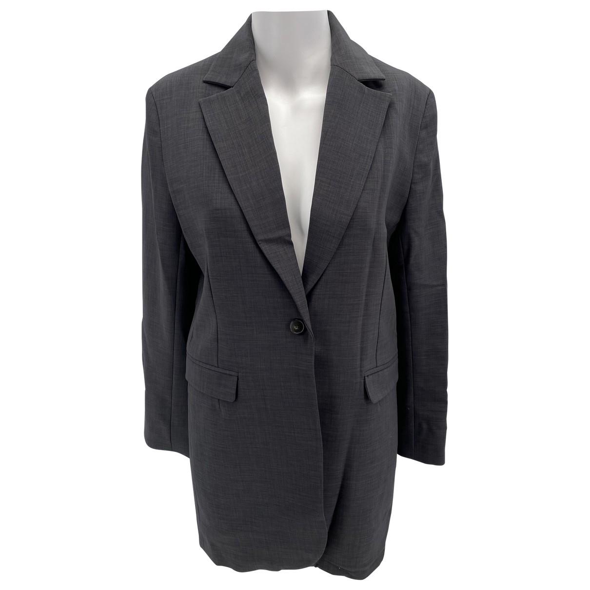 Birgitte Herskind \N Grey Wool jacket for Women 36 FR