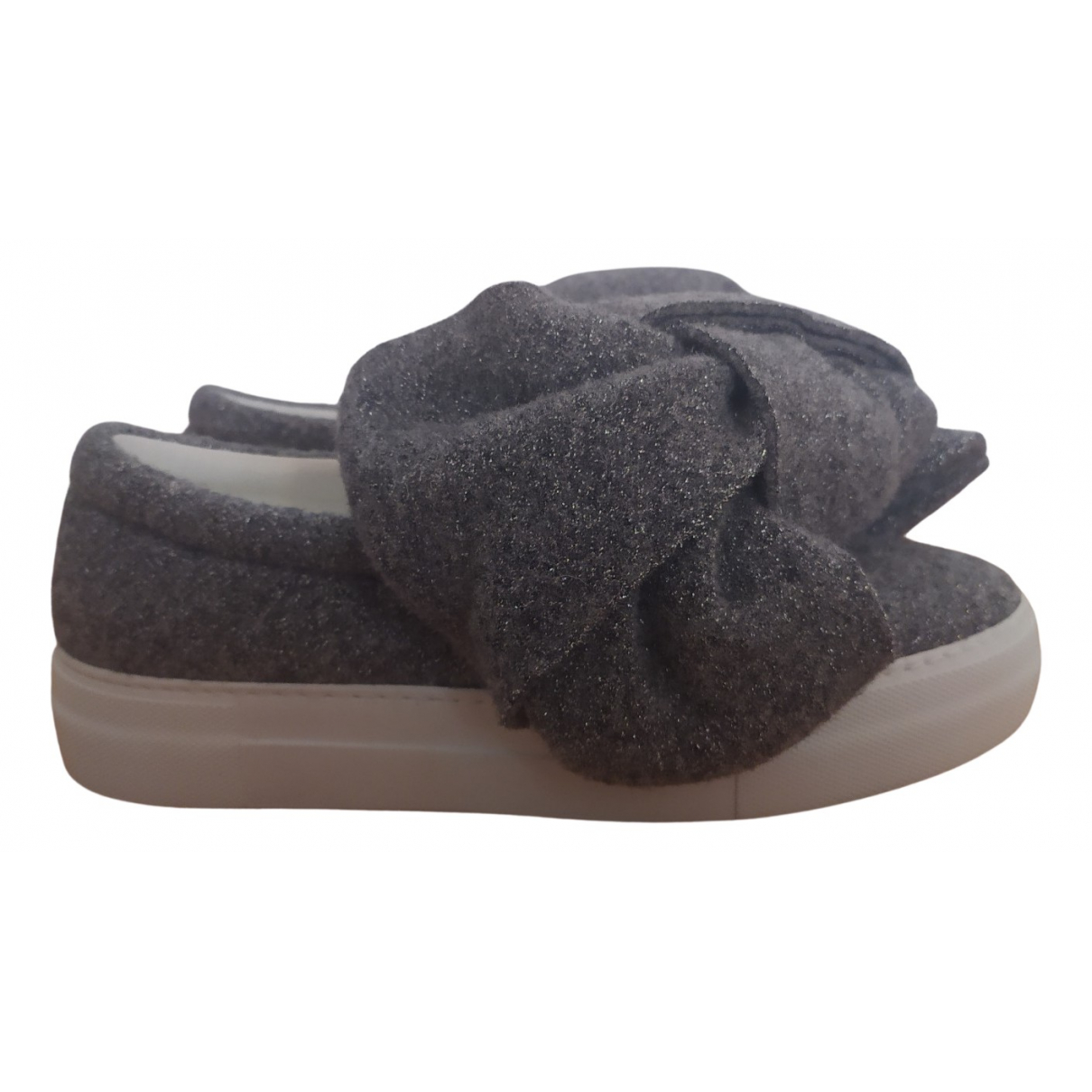 Joshua Sanders \N Sneakers in  Grau Tweed