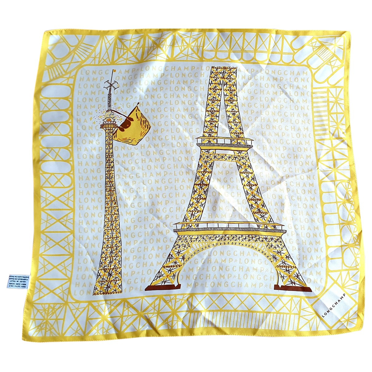 Longchamp - Foulard   pour femme en soie