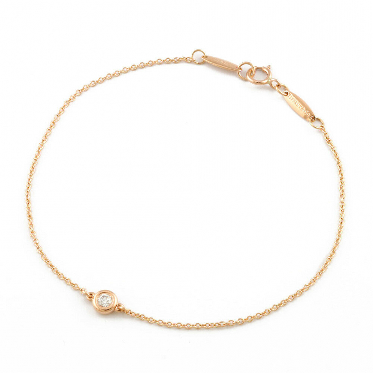Tiffany & Co \N Armband in Rosegold