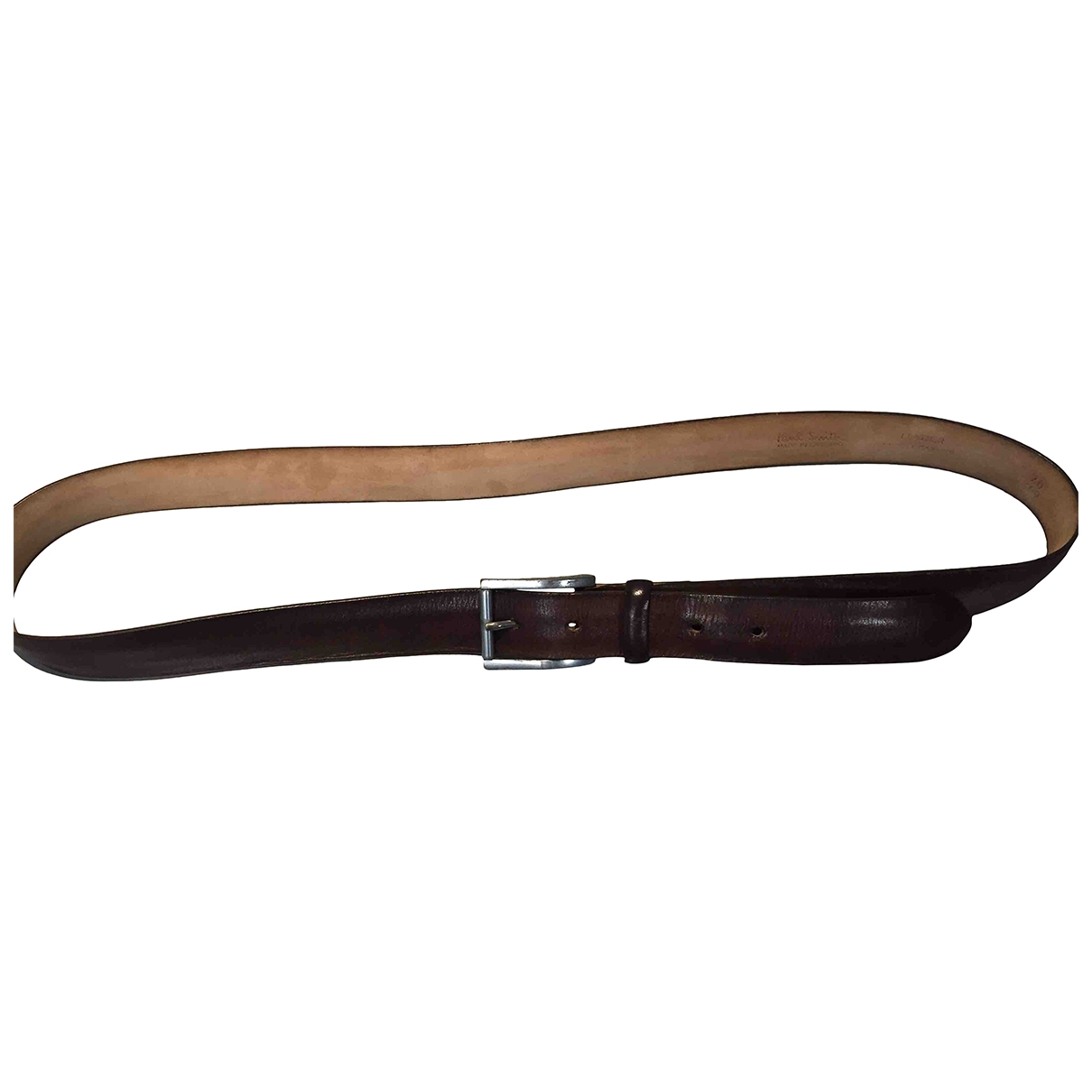 Paul Smith \N Brown Leather belt for Men 100 cm