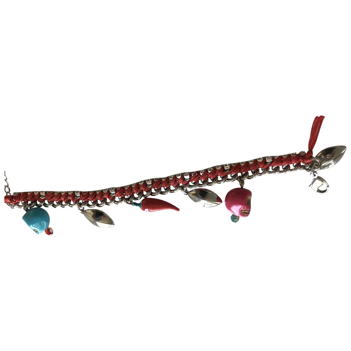 Swarovski - Bracelet   pour femme en chaine - rouge