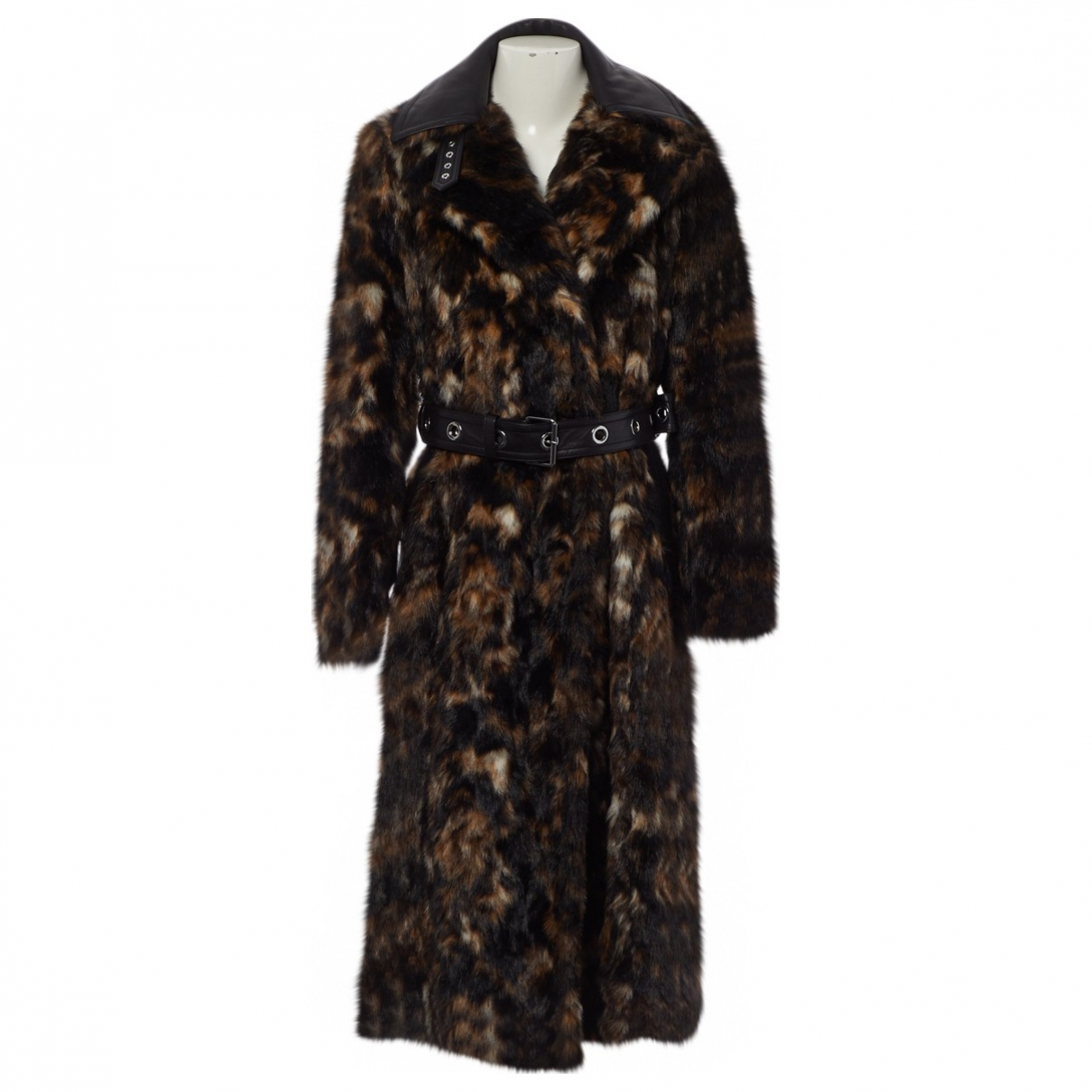 Helmut Lang \N Brown Faux fur coat for Women S International